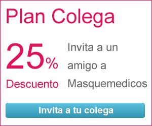 Plan Colega: Invita a tus amigos a Masquemedicos