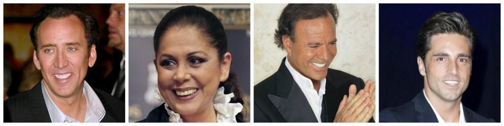 Fundas dentales en famosos