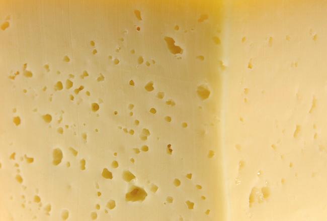 Osteoporosis metáfora queso