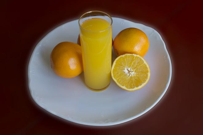 Naranja y su zumo