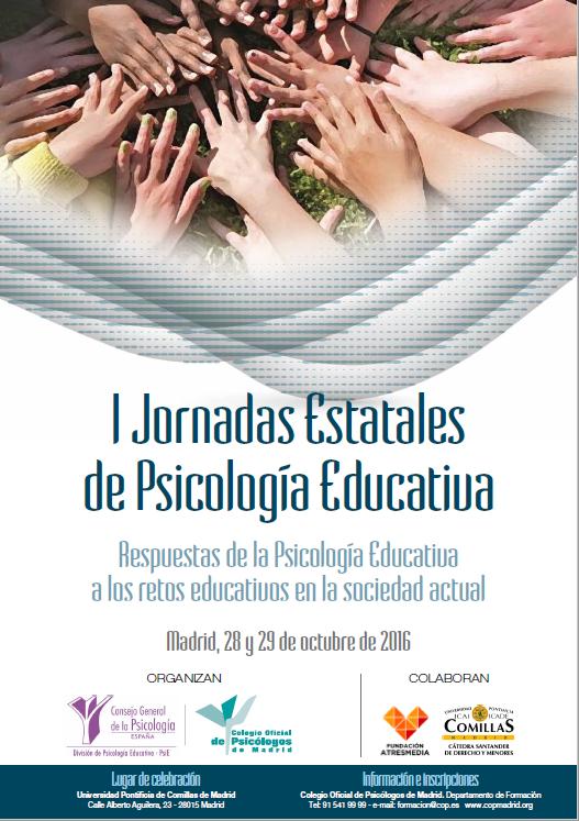 I Jornadas Estatales de Psicología Educativa