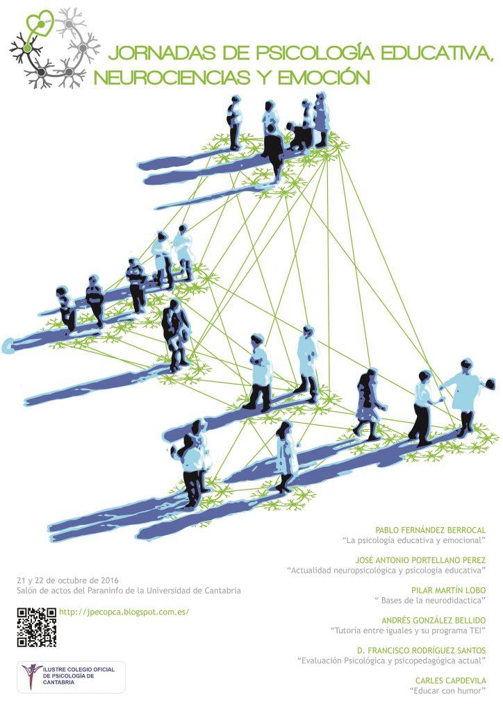 Jornadas de Psicología Educativa, Neurociencia y Emoción en Santander
