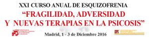 XXI  Curso Anual de Esquizofrenia, Fragilidad, Adversidad y Nuevas Terapias en la Psicosis