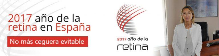 2017 Año de la retina en España: No más ceguera evitable