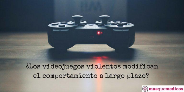 Videojuegos violentos. ¿Influencian el comportamiento a largo plazo?