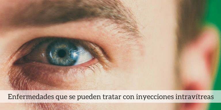 Inyecciones de fármacos en los ojos para tratar enfermedades oftalmológicas