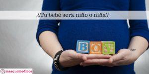 ¿Cómo saber si esperas niño o niña?