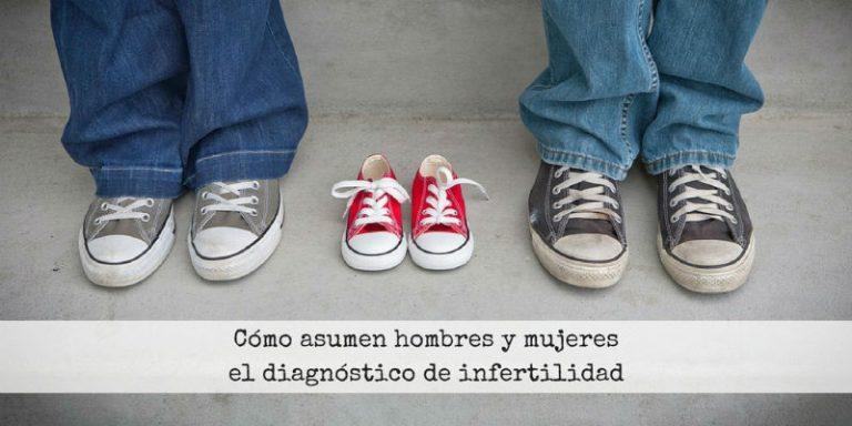 Diferencias entre hombres y mujeres al recibir un diagnóstico de infertilidad