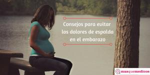 Cómo evitar los dolores de espalda en el embarazo