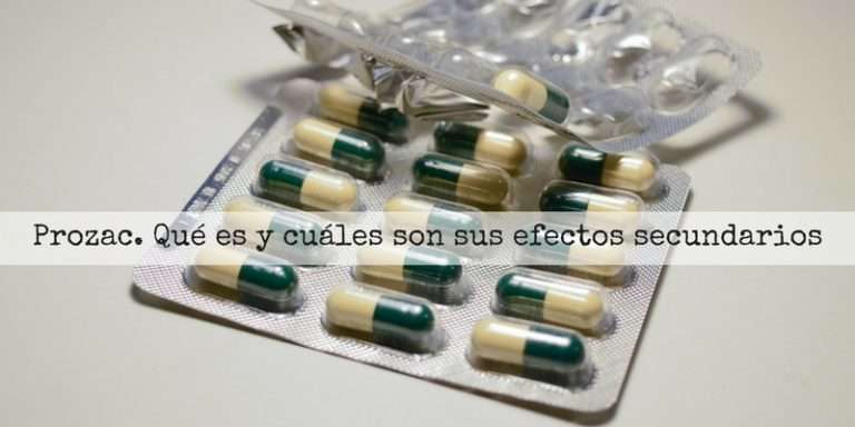 Efectos secundarios del Prozac