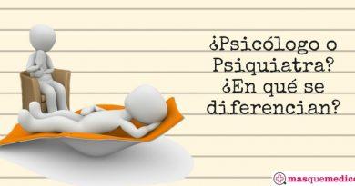 Psicólogo o Psiquiatra. Diferencias