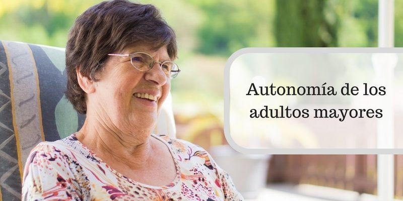 Autonomía de los adultos mayores