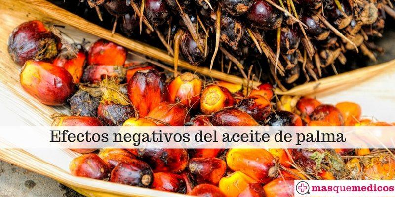Efectos negativos del aceite de palma