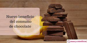Nuevos beneficios del consumo de chocolate