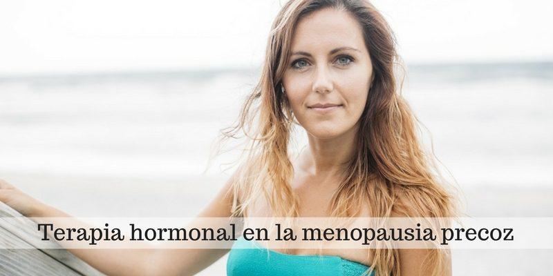 Terapia hormonal en la menopausia