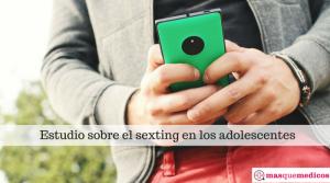 El sexting en los adolescentes