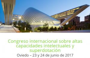 Congreso Internacional de altas capacidades y superdotación
