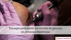 Tatuajes para medir los niveles de glucosa
