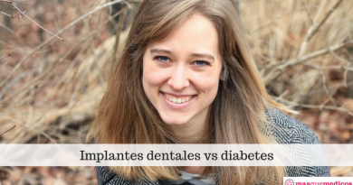 Implantes dentales vs diabetes