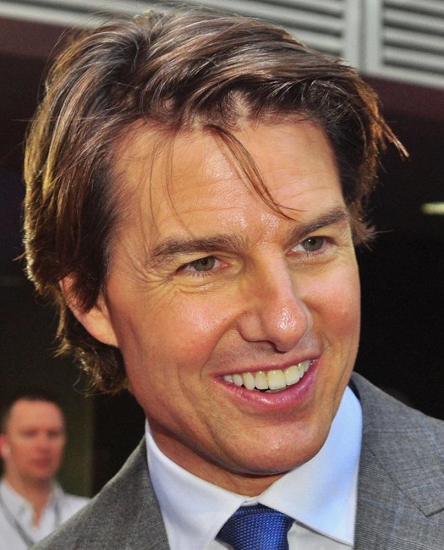 Famosos con carillas dentales: Tom Cruise