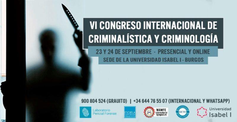 congreso criminalistica y criminologia
