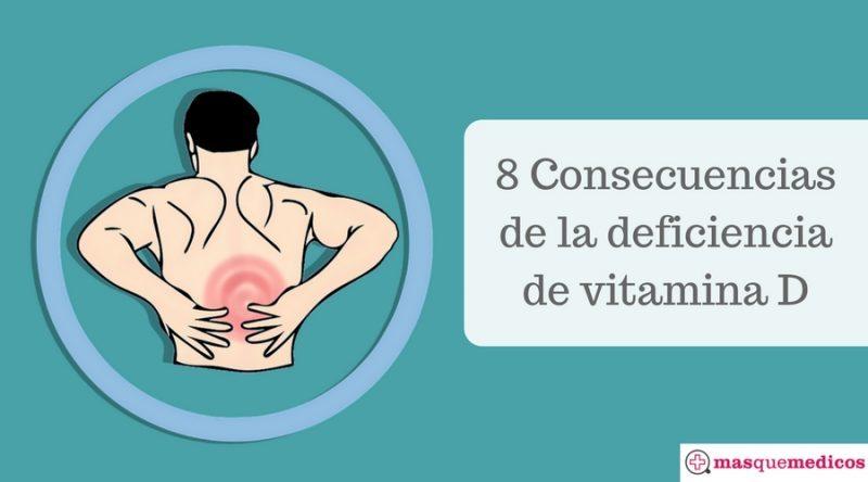 8 Consecuencias de la deficiencia de vitamina D