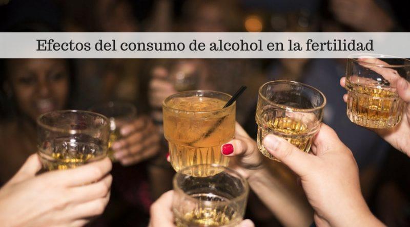 Efectos del consumo de alcohol en la fertilidad
