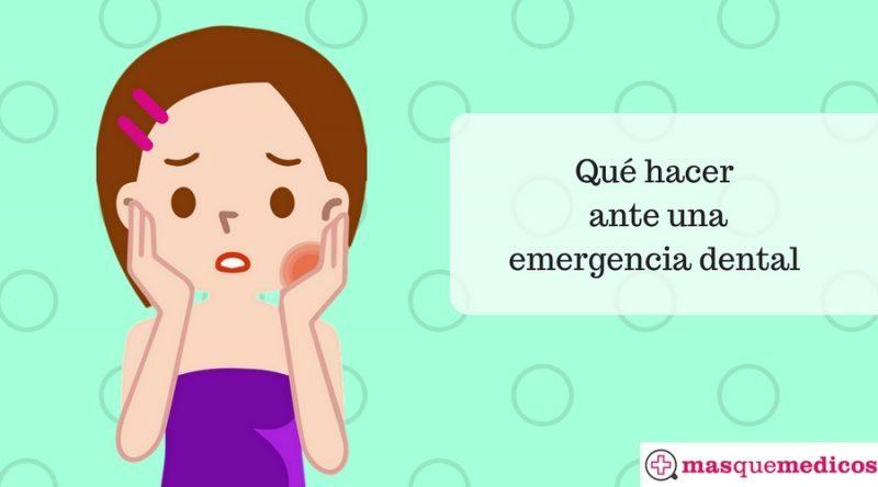 Qué hacer ante una emergencia dental