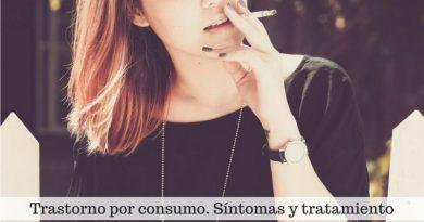 Trastorno por consumo. Síntomas y tratamiento