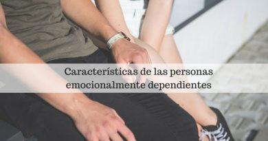 Características de las personas emocionalmente dependientes