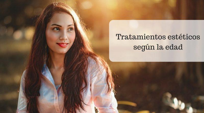 Tratamientos estéticos según la edad