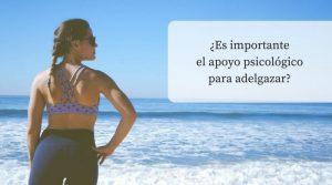 Importancia del apoyo psicológico en la pérdida de peso