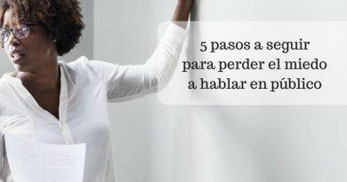 5 pasos a seguir para perder el miedo a hablar en público