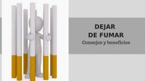 Dejar de fumar. Consejos y beneficios