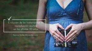 Evolución de los tratamientos de reproducción asistida en los últimos 30 años