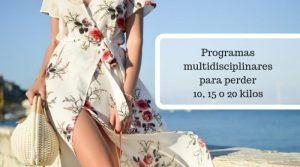 Programas multidisciplinares para perder peso
