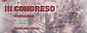 III Congreso Internacional sobre Psicología Social en Cuenca