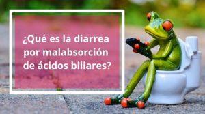 ¿Qué es la diarrea por malabsorción de ácidos biliares?