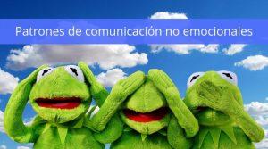 Patrones de comunicación no emocionales