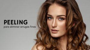 Peeling para eliminar arrugas finas