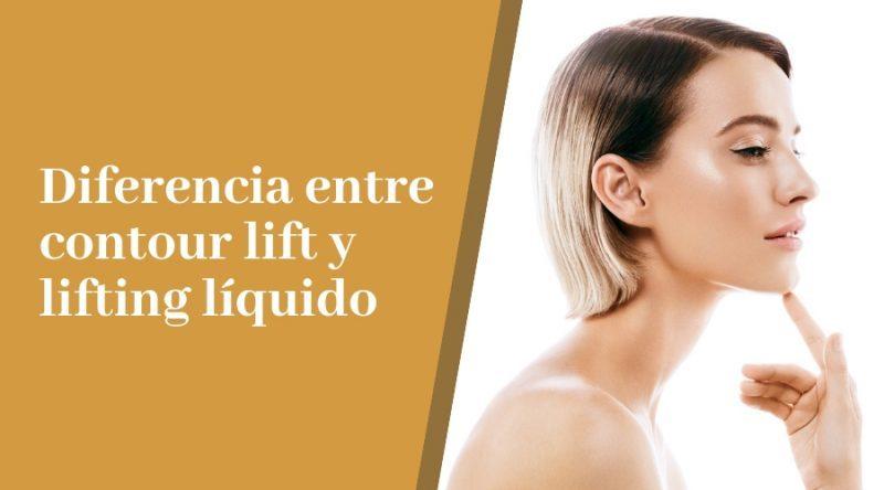 Contour lift vs lifting líquido