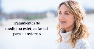 Medicina estética facial para el invierno