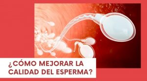 ¿Cómo mejorar la calidad del esperma?