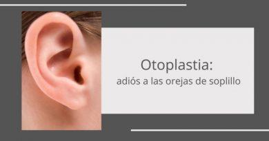 Corrección de orejas de soplillo mediante otoplastia