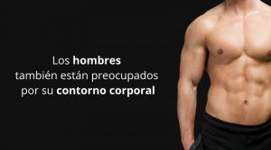 Los hombres también están preocupados por su contorno corporal