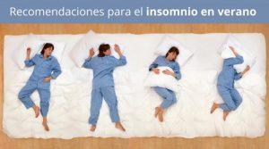 Recomendaciones para el insomnio en verano