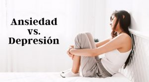 ¿Qué diferencia hay entre depresión y ansiedad?