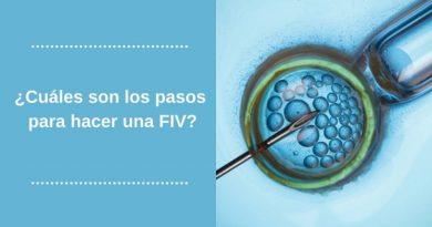 ¿Cuáles son los pasos para hacer una FIV?