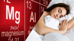 El magnesio como relajante muscular y favorecedor del sueño